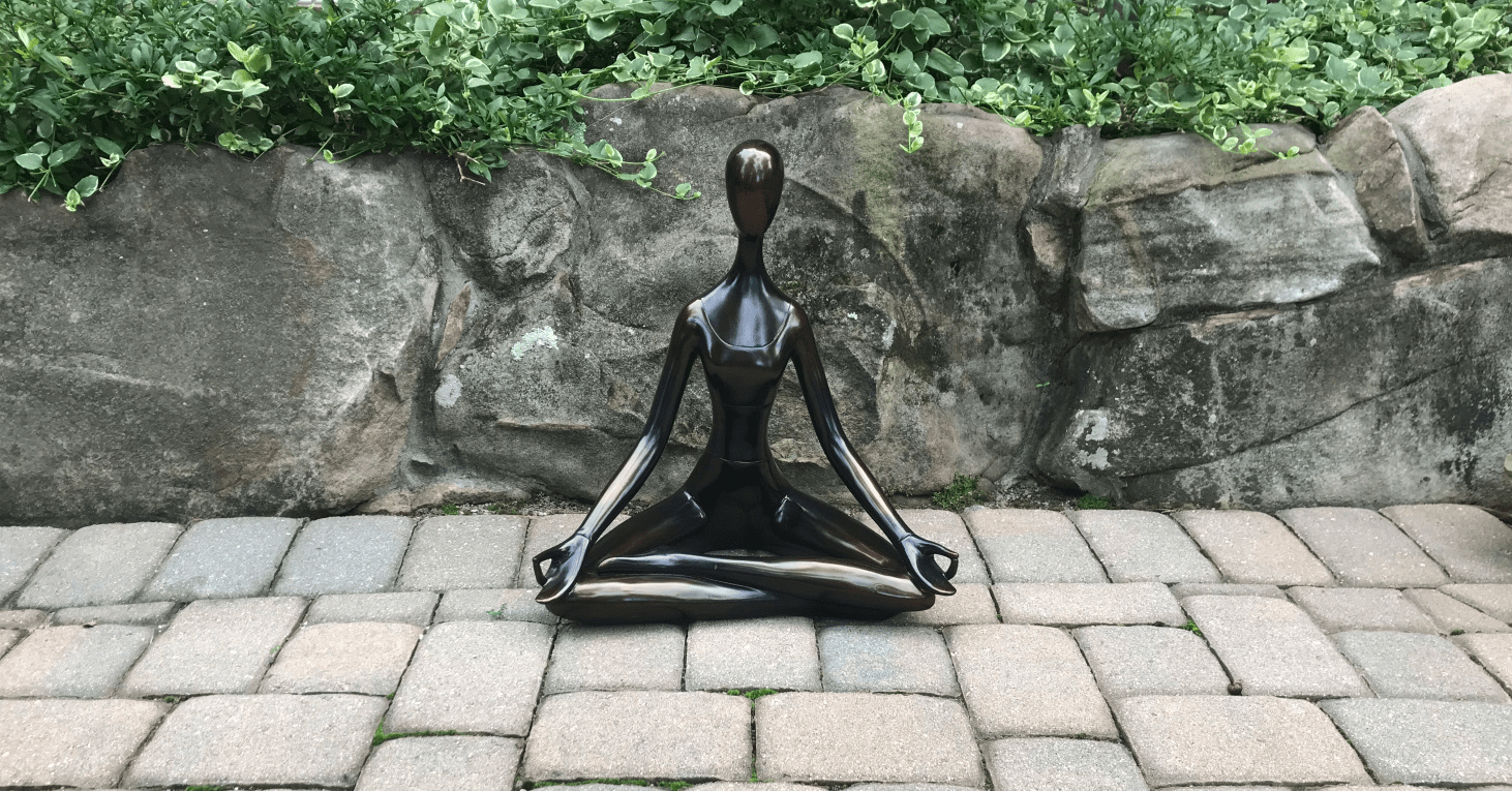 The Well-Intended: Pillars of Wellness, Statue